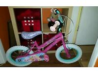 "Girls barbie bike 14"""