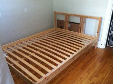 Good Ikea Double Bed Frame Beds Gumtree Australia Port Phillip South Melbourne 1173348886