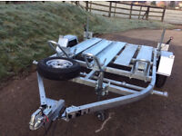 Triple Motorcycle trailer for HIRE, £23.99/day