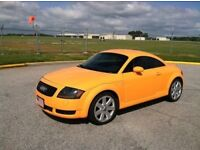 WANTED Audi TT prefer 3.2 tintop in Orange, Kingfisher Blue or Yellow WANTED