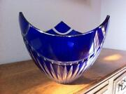 Blue Crystal Bowl