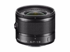 Nikon 1 NIKKOR VR 6.7-13mm f/3.5-5.6 Lens - Black