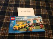 Lego City Car and Caravan