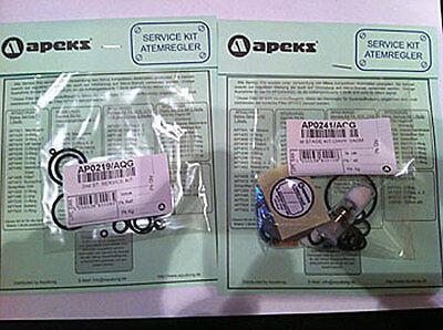 Apeks Travel /  Revision - O-Ring Kit für 1+2 Stufe für XTX / ATX 40 / 100 / 200