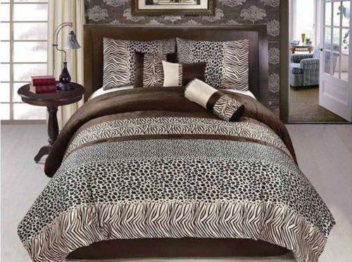 Leopard Bed Set Queen Ebay