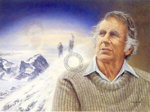 James Lumbers Mount Everest Limited Edition Print This is a sign