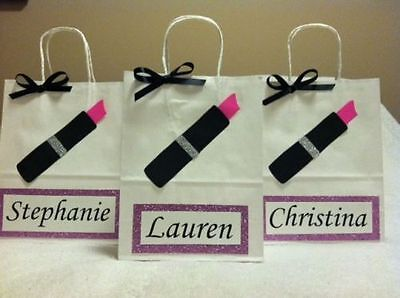 Bridesmaids Gift Bags (Personalized Bridesmaid Gift bags - Set of)