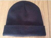 Men's Brown Woollen Hat NEW