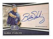 2012 Bowman Platinum Bubba Starling