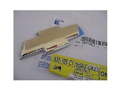 GENUINE GM 2005-2009 TRAILBLAZER REAR LIFTGATE GOLD BOWTIE EMBLEM GM# 20830823