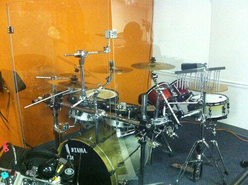 Acrylic Drum Shield Drum Screen DS64 C Four Panels 2
