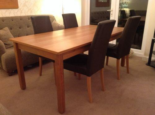 large dining table and chairs ebay