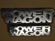 Power Wagon Emblem