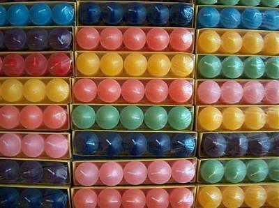 120 Votivkerzen Duftkerzen ca 10 Düfte und Farben
