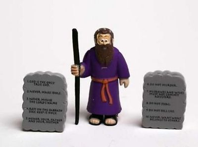 Moses & Commandments - Beginner's Bible Action Figure Toy Children - Bible Toys