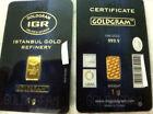 1g Gold Bullion Bars