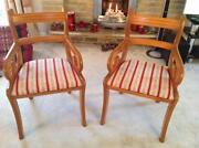 Pair Carver Chairs