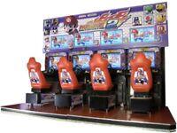 Mario Kart arcade GP gaming chair, Nintendo, Namco, game room, man cave, OFFERS