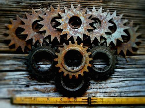 Vintage Industrial Gear Ebay