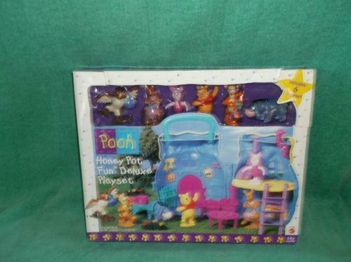Winnie The Pooh Playset Ebay