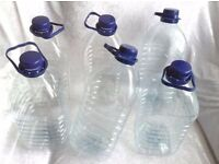 Wanted Empty Water Bottles (5 Litres) for London recycle project