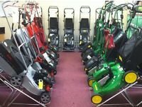 All petrol ride on mowers and lawnmowers strimmers etc bought for cash
