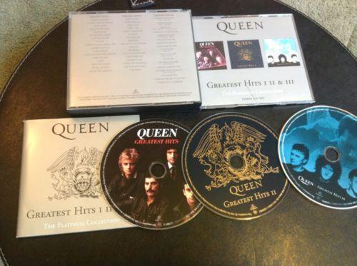 Queen Greatest Hits 1 2 3 Ebay