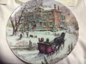 """Coming Home"" Stewart Sherwood collector plate $15 or best offer"