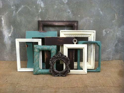 rustic picture frames ebay