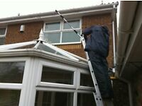 roofing and gutters from a conservatory
