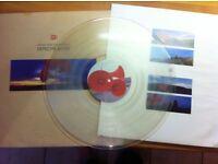 Depeche Mode 'Music for the masses' Album on Clear vinyl