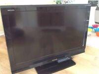 "TOSHIBA 37"" X3 HDMI FREEVIEW TV A VERY NICE TV"