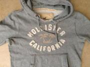 Grey Hollister Hoodie