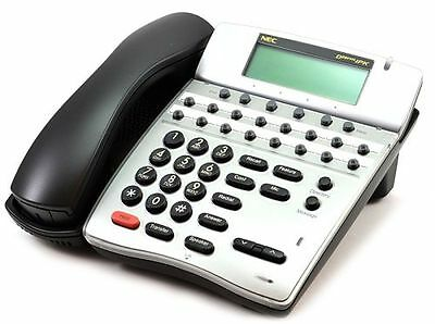 Nec Dterm Ipk Ip Phone Ith-16d-3bktel Refurb Good Display Wpower 1yr Warranty