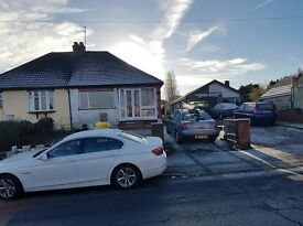 *BCH*-2 Bedroom Semi Detached Bungalow-COSELEY, Siddons Road-Close To Rosewood School
