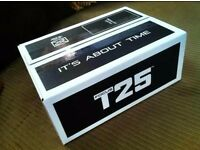 T25 and Insanity workout dvds