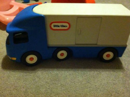 Semi Truck That S Also A Toy Car Holder : Little tikes semi ebay