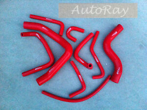 Silicone Heater Radiator Hose Kit for Mitsubishi Pajero NH NJ V6 3.0 6G72 91-96