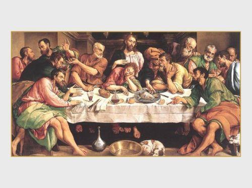 Vintage Last Supper Print Ebay