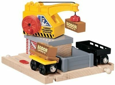 Learning Curve Thomas & Friends Wooden Railway -  CARGO TRANSFER - LC99351 - new