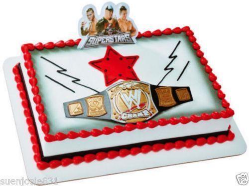 Wwe Cake Toppers Ebay