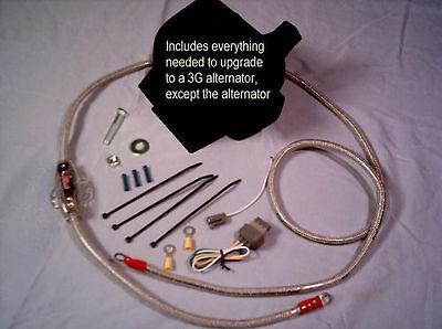 87-93 Ford Mustang > 3G alternator conversion INSTALL/WIRING KIT  upgrade - Ford Alternator Wiring