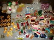 Huge Lot Vintage Christmas