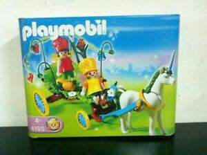 Playmobil Fairy Tales Garden 4195 CARRIAGE with UNICORN MIB, 200