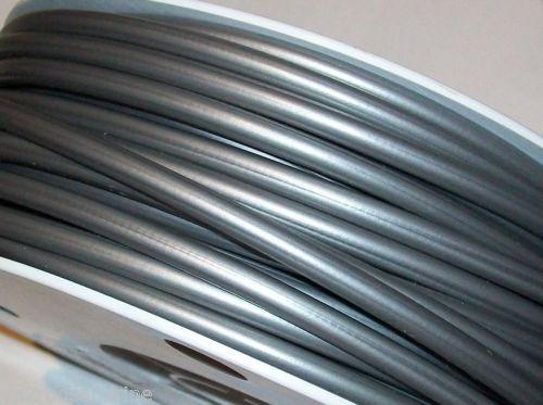 GAINE DE FREIN VELO CYCLOMOTEUR GRISE 5mm  longueur 4m50 + 6 embouts