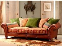 Tetrad Classic Design Leather Sofa - Open to Offers!