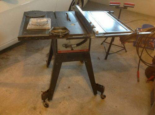 Table Saw Stand Ebay