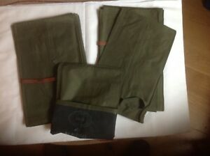 British army mess tins waterproof bags unissued x 2