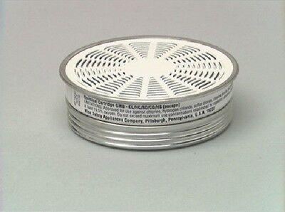 Msa Gas Mask Chemical Cartidges 464032 Nib 10 Pak Filters Filter 459316