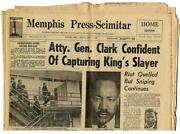 Martin Luther King Newspaper